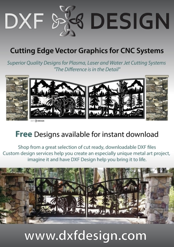 FREE DXF files: Ready to Download & Cut Today - DXF Design