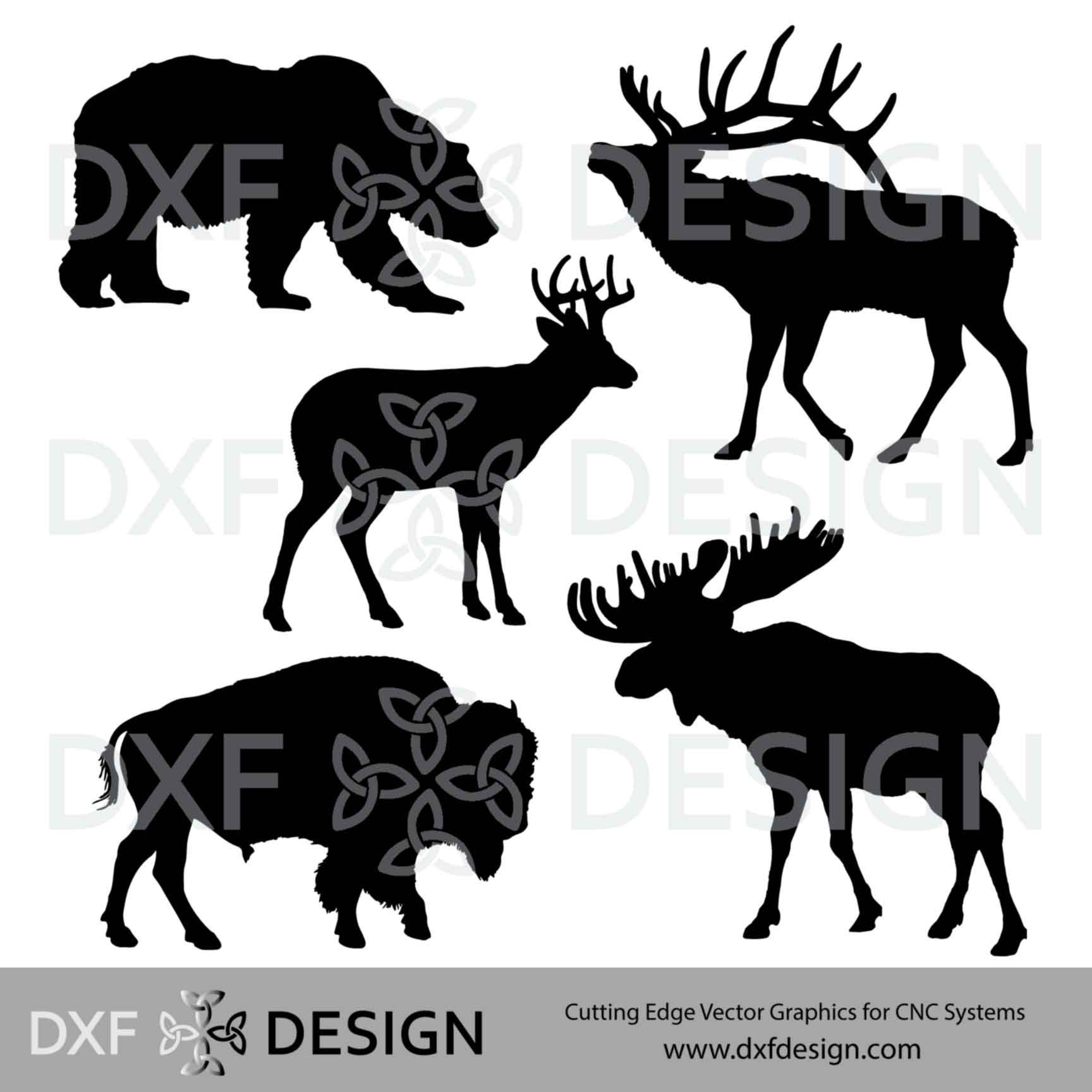 FREE DXF file Wildlife for CNC Plasma cutting
