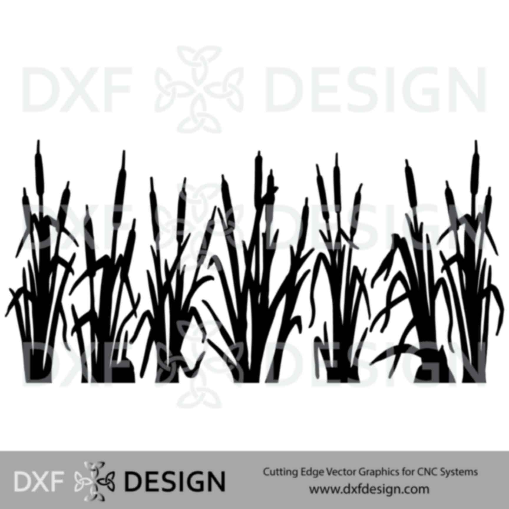 Cattails DXF File
